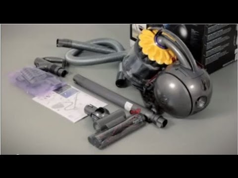 Dyson DC37 and DC39 with Triggerhead floor tool - Getting started (Official Dyson video)