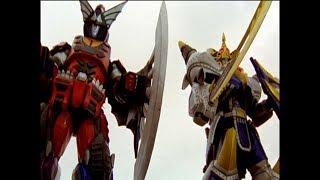 Power Rangers Jungle Fury - Blue Ranger, Twin Danger - Megazord FIght (Episode 24)