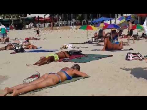 NEW BEACH VIDEO,PATONG BEACH 25.1.2015,PHUKET THAILAND.