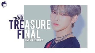 TREASURE FINAL | Line Appreciation: Yeosang (여상)