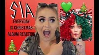 "Download Lagu Sia ""Everyday Is Christmas"" Album Reaction - Elise Wheeler🎄 Gratis STAFABAND"