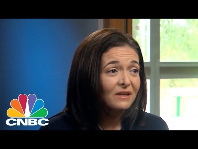 Facebook COO Sheryl Sandberg: We're Open To Regulation | CNBC