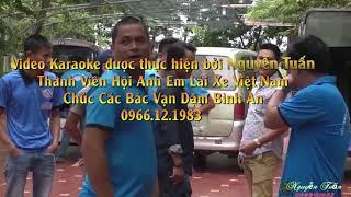 Loi Nguoi Ra Di Karaoke beat  - Nhac Che Hoi Anh Em Lai Xe VN