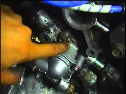 2e Engine Toyota Replacing Water Outlet Housing Thermostat