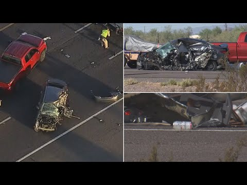 Alcohol likely a factor in wrong-way crash on I-17, DPS says