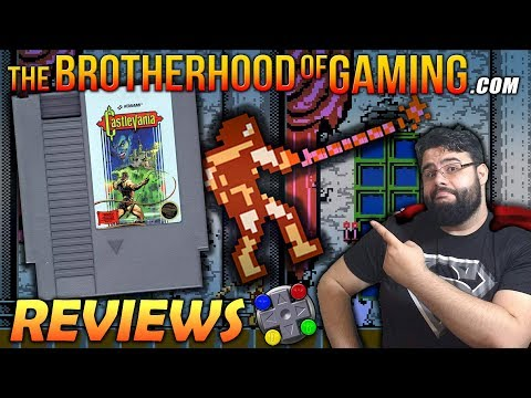 CASTLEVANIA (NES) Review // The Brotherhood of Gaming