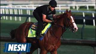 Justify Draws Post 1 Ahead Of Attempt At Triple Crown At Belmont