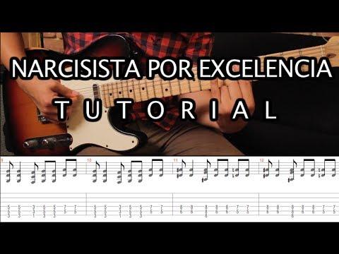 Como Tocar narcisista Por Excelencia De Pxndx - Tutorial Guitarra (acordes + Tab) Parte 1 video
