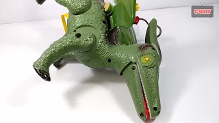 Đồ chơi khủng long bay biết đi và mèo huấn luyện khủng long dinosaur toy for kids