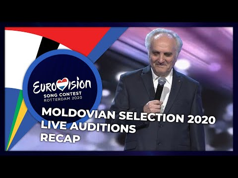 Moldovan National Selection 2020 | Live Auditions | RECAP