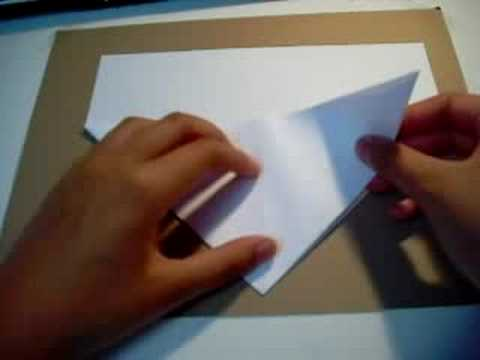 Origami - How to fold a heart