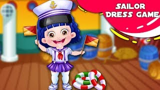 Sailor Dress Up Game | Fun Game Videos By Baby Hazel Games