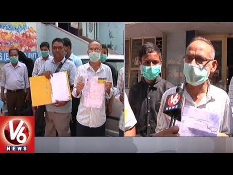 Denied Treatment, Patients Protest At ESI Hospital In Hyderabad | V6 News