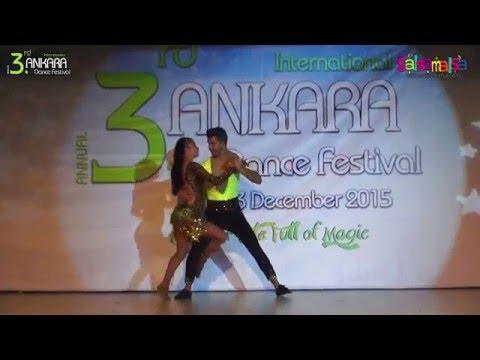 Cenk Atarer & Seda Özdemir Salsa Show | AIDC-2015