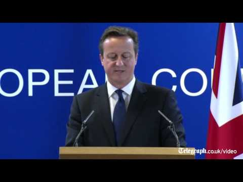 David Cameron: Europe has taken 'one big step backwards'