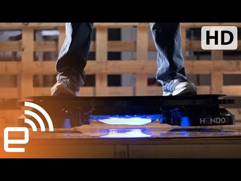 The $10k hoverboard | Engadget