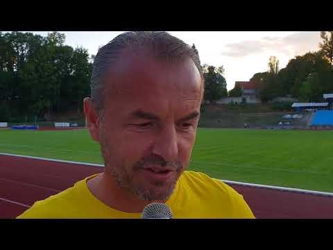 Kouč Zdenko Frťala po zápase ve Varnsdorfu