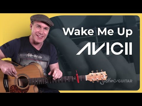 Wake me Up - Avicii - Guitar Lesson Tutorial (BS-626) how to play for beginners