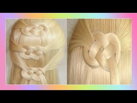 Peinado Nudo Corazón Celta / Celtic Heart Knot Hairstyle /  ViriyueMoon