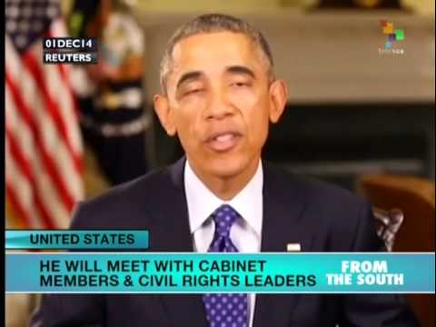 Obama to meet with cabinet, civil rights leaders on Ferguson aftermath