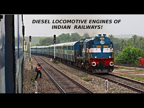 INDIAN RAILWAYS DIESEL LOCOMOTIVES MEGA COMPILATION- EMD AND ALCO