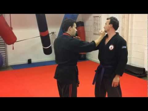 Ju-jitsu wrist lock techniques - Escapes from collar grabs/wrist grabs - MR Fitness Image 1