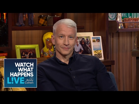 Anderson Cooper On Co-Hosting With Kelly Ripa For 'Live' - WWHL