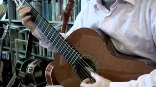 Stand by me / When the storms of life are raging (classical guitar)