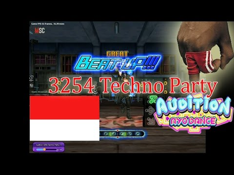 Audition - 3254 Techno Party NO MISS !! (Beat Up 8D) Audition Ayodance Indonesia