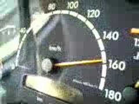 Mercedes Sprinter 160km/h Video