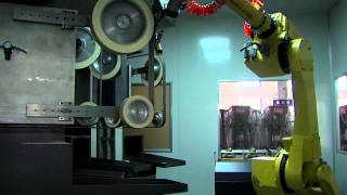 robot polishing machine, automatic polishing machine