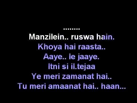 Sun Raha Hai Na Tu Aashiqui 2 Karaoke Free By Narinder Kumar video