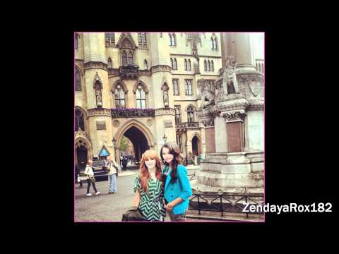Pictures Of Bella Thorne and Zendaya in London