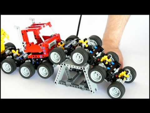 Lego 16 Wheeled Monster Truck