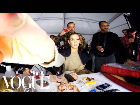 Watch What Happens When We Give Karlie Kloss a GoPro at New York Fashion Week - Vogue