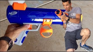Nerf Dog Ball Shooter Review!