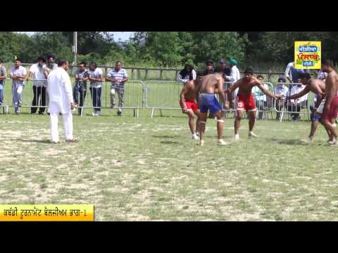 Shahid Bhagat Singh Belgium Kabbadi 2014 Part1 Media Punjab TV