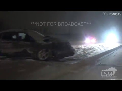2-1-16 Aurora, Colorado Winter Storm -- Numerous Overnight Accidents
