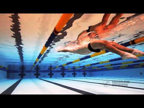 Michael Phelps training in Los Angeles, CA
