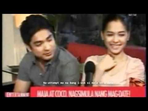 KILIG MOMENTS 2 - COCOJAM news ELIVE (coco and Maja) -nagsisimulang pagiibigan