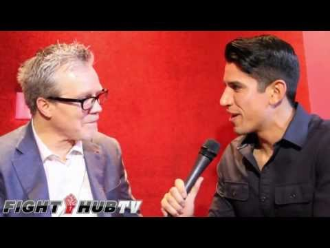 Freddie Roach disappointed in Marquez, talks Nevada Boxing Hall Of Fam...