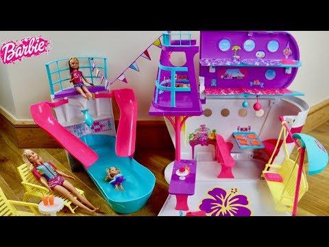 Barbie Pop out Dream Camper Unboxing & Review boneka Barbie berkemah mobil boneca Barbie campista