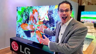 First look at ALL of LG's newest TVs