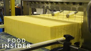 How A 100-Year-Old Vermont Creamery Makes Cheddar Cheese | Regional Eats