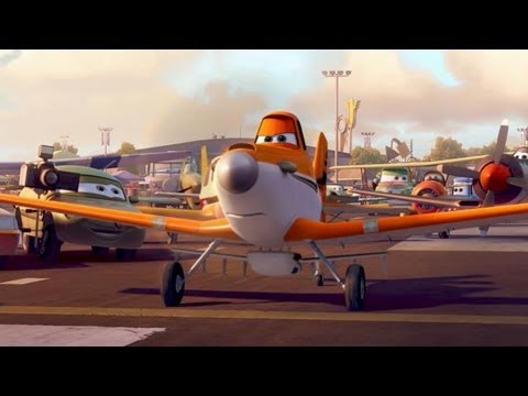 Planes Trailer (Disney Animation - 2013)