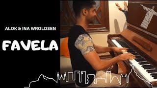 Baixar Piano Cover - Favela  - Alok & Ina Wroldsen