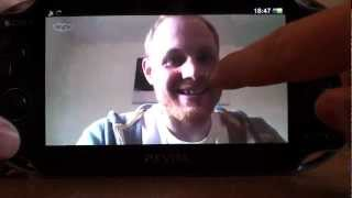 PS Vita Skype - How to use app during gameplay