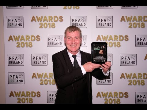 Stephen Kenny - 2018 PFAI Manager of the Year