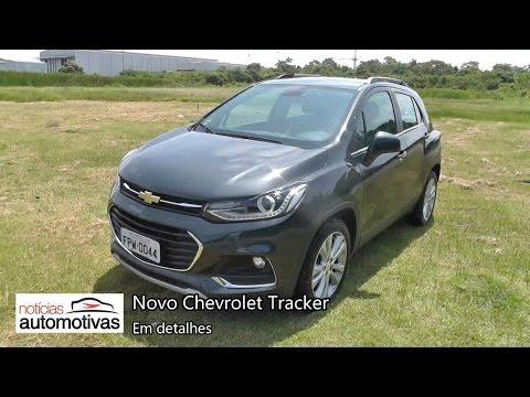 Novo Chevrolet Tracker - Detalhes - NoticiasAutomotivas.com.br