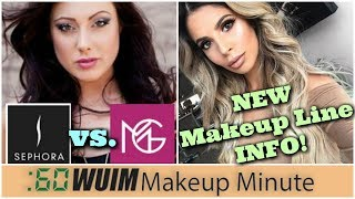 Sephora Rips off Makeup Geek?? + NEW Deets on Laura Lee's Makeup Line!! | Makeup Minute